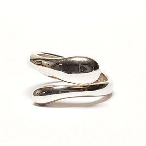 Designer Designed Ring Sterling Silver